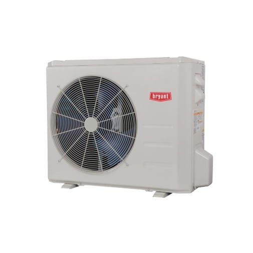 bryant ductless hvac system installation in santa rosa